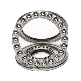 Single Direction Thrust Ball Bearings with Spherical Outer Ring