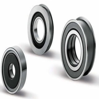 Mast Rollers - Double Row Angular Contact Ball Bearing Type